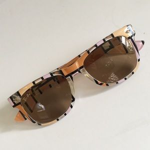 Ray Ban Wayfarer Mondrian NeoPlastic Sunglasses